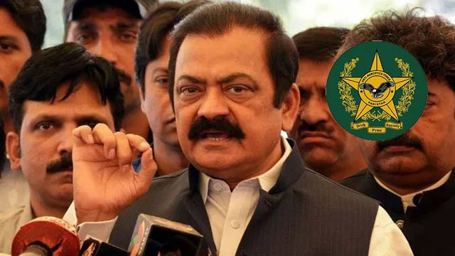 Rana Sanaullah to be Presented Before Court Amid Tight Security