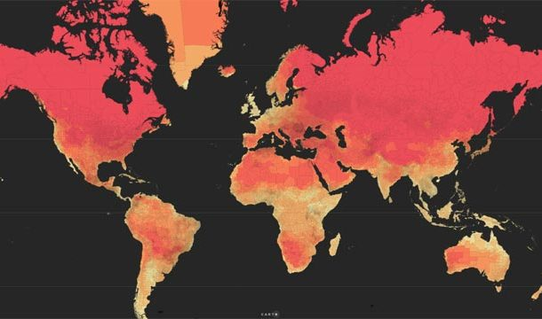 Rising Temperature, Expected in Major Cities of the World by 2050