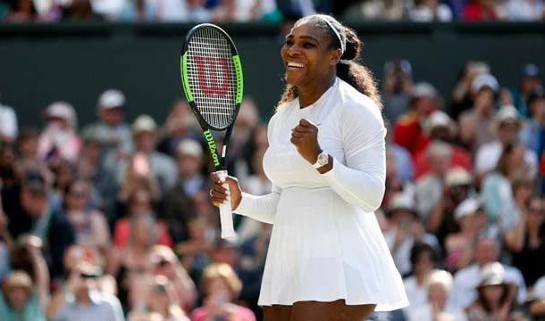 Serena Williams Reaches Wimbledon Semifinals