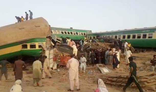 Sadiqabad: 18 Killed, Several Injured in Trains Collision
