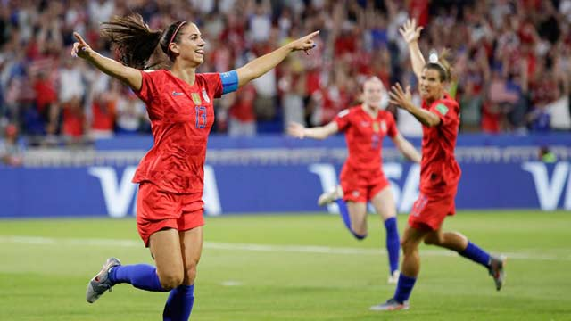 US Qualifies For WC Final With Dramatic Win Over England