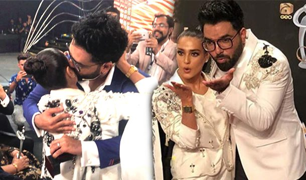 Yasir Hussain Finally Proposed to Iqra Aziz at The Lux Style Awards 2019 and People Have SO MUCH to Say