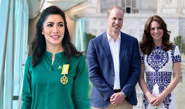 Mehwish Hayat Thrilled to Welcome the Royal Couple in Pakistan