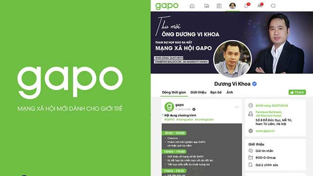 Veitnam Launched Gapo, Alternative to Facebook