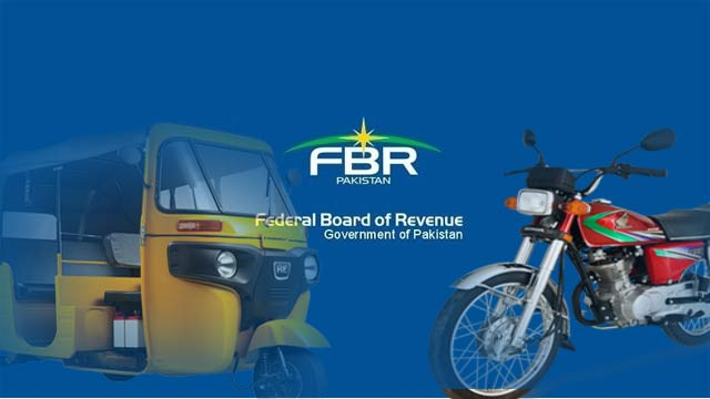 No New Withholding Tax Imposed on Motorcycles and Rickshaws: FBR