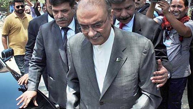 Another Add-on in Zardari's Remand, NAB