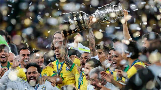 Brazil Wins First 'Copa America' Title In 12 Years