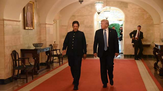 PM Imran Leaves For Pakistan After Successful US Visit