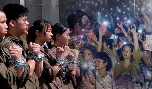 Anti-Extradition Bill, Mothers Protest in Hong Kong.