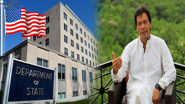 US State Department Unaware Of PM Khan's Visit