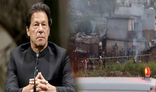 PM Khan Expresses Sorrow Over Loss of Lives in Plane Crash