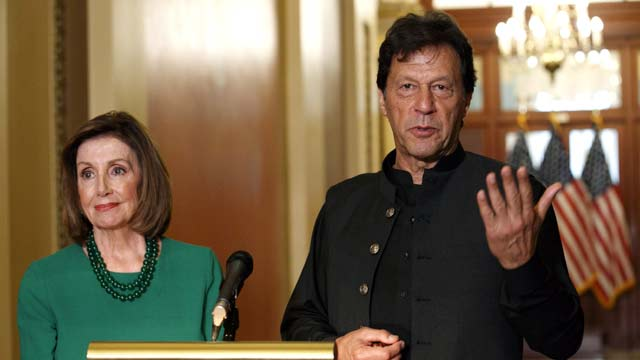 PM Imran, Nancy Pelosi Discuss Matters Of Mutual Interest