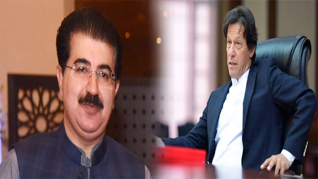 PM Assures Support to Sanjrani Over No-Confidence Motion
