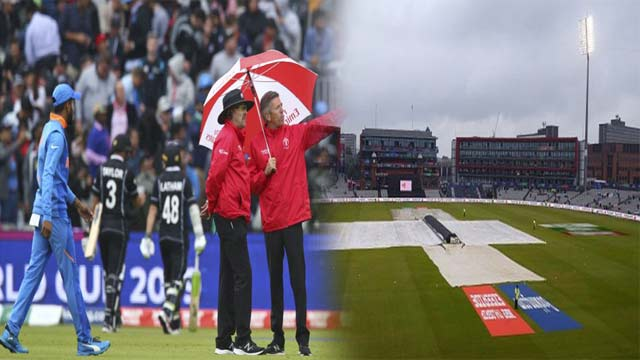 IND vs NZL: Rain Pushed First World Cup Semi Final to Second Day