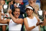Wimbledon 2019: Barbora Strycova, Hsieh Take Women's Doubles Title