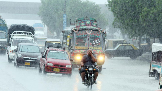 Rain and Thunderstorms are Expected in Karachi Today, According to the Met Office
