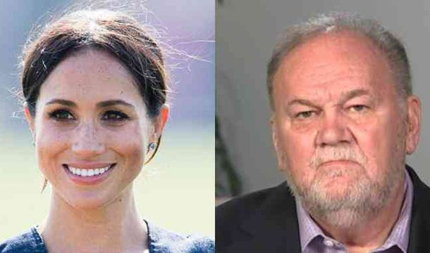 Meghan Markle's Father Upset For Not Being Invited to His Grandson's Christening