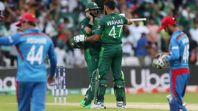 Pakistan Crushes Afghanistan in a Nail Biting WC Clash