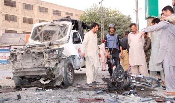 Five People Killed, Several Injured in Quetta Blast