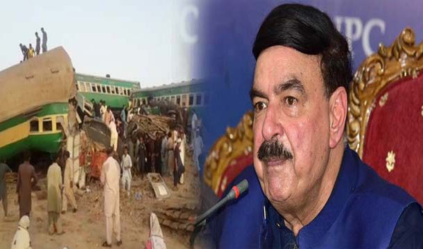 Sheikh Rasheed Orders Inquiry Into Sadiqabad Train Accident