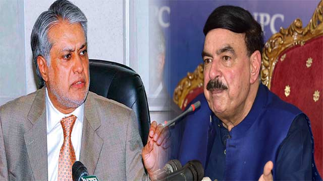 Shiekh Rashed Predicts Ishaq Dar's Extradition Within 15-Days