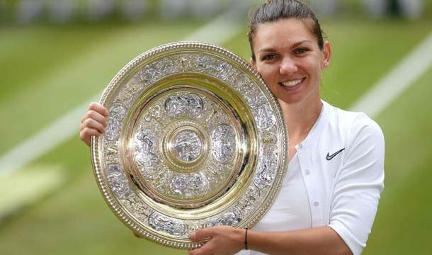 Halep Beats Serena Williams to Win Wimbledon Title