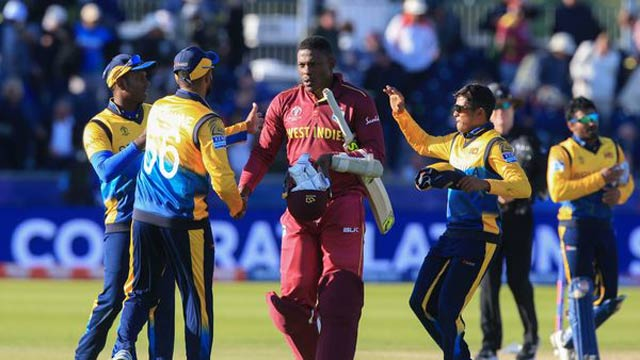 Sri Lanka Claims Victory Against West Indies In WC Match