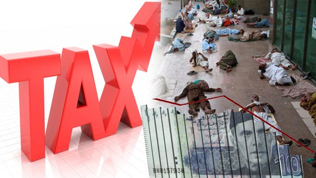 Taxes are Hurting the Economy and Poor