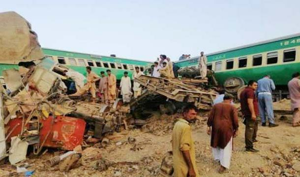 Death Toll Rises to 22 in Sadiqabad Train Accident