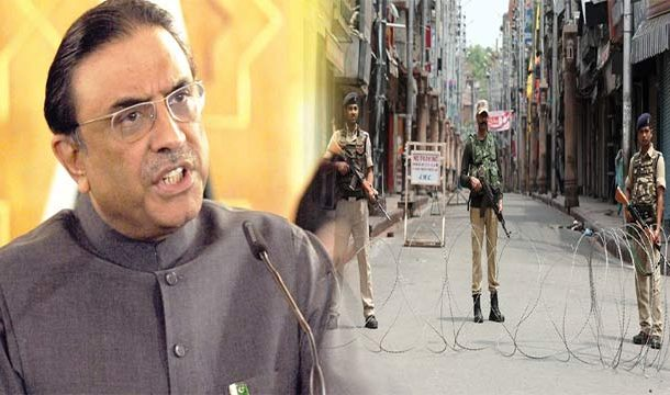 Zardari Terms Kashmir Issue as Another Major Incident After East Pakistan
