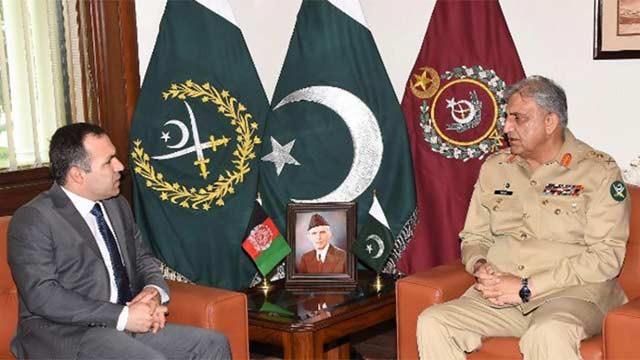 Afghan Envoy, COAS Bajwa Discuss Afghan Reconciliation Process