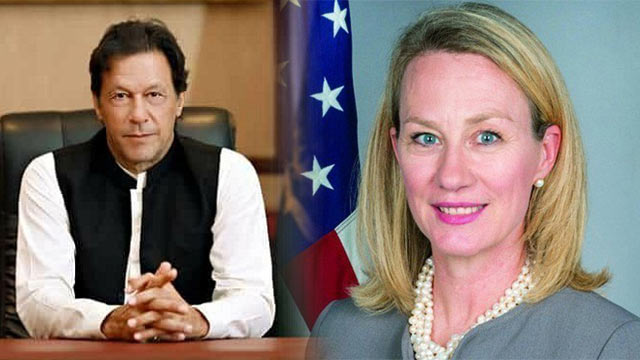 US Envoy Alice Wells lands in Pakistan