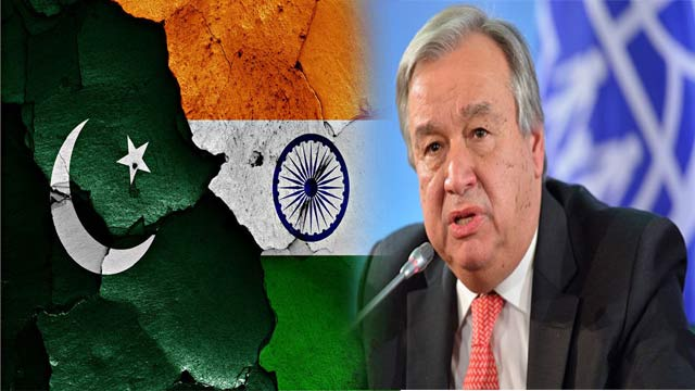 UN Chief Urges India To Refrain From Changing Kashmir's Status