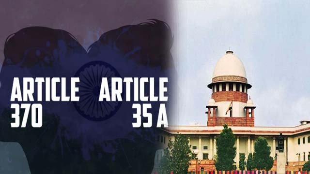 Indian SC Refers Article 370 Cases to Constitution Bench