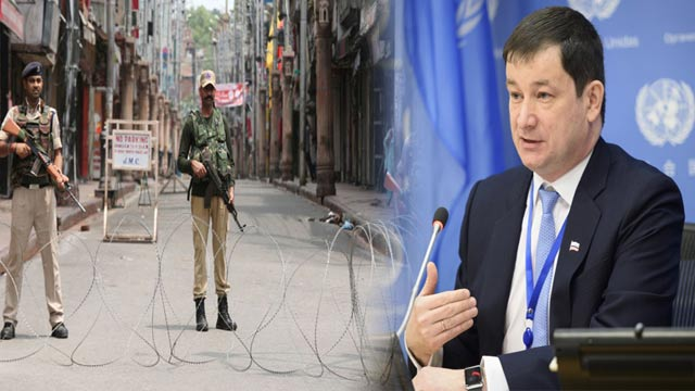 Russia Has No Hidden Agenda on IOK: UN Envoy