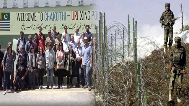 Foreign Journalists Reviews Kashmir Situation Along LOC