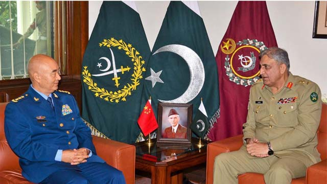 COAS Appreciates China's Support on Kashmir Dispute