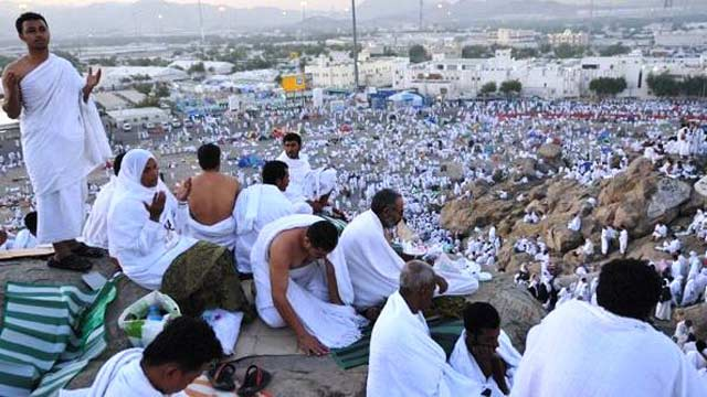 Over Two Million Hajj Pilgrims to Perform 'Waqoof-e-Arafat' Today