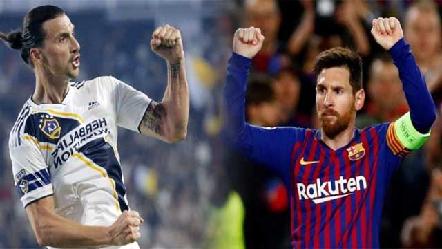 Messi, Ibrahimovic Nominated For FIFA Goal of The Year