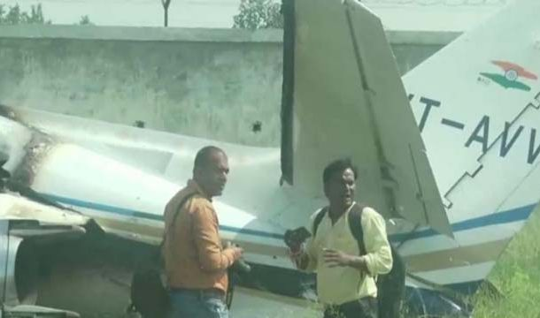 India's Trainer Aircraft Crashes in UP's Aligarh