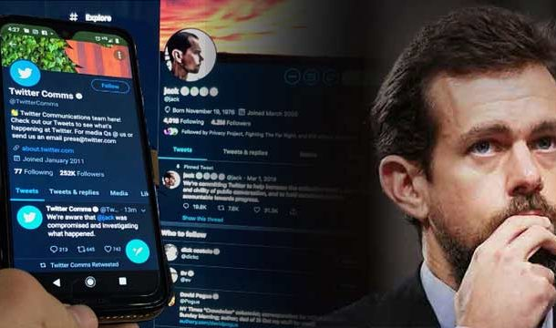 Jack Dorsey's Twitter Account Hacked