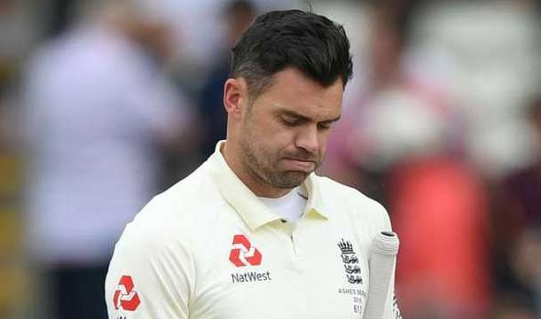 England's James Anderson Ruled Out For Rest of Ashes