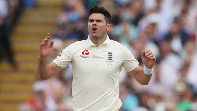 England's Anderson Will No Longer Part of Ashes Test