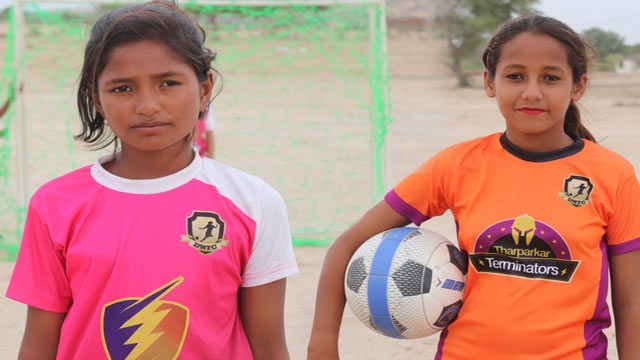 Thari Girls to Play in Gothia Football World Cup