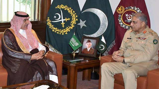 KSA Ministers Call On Pakistan Chief of Army Staff (COAS)