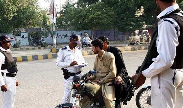 Karachi: Traffic Police Collect Record Rs55m in Challans