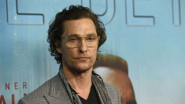 Matthew McConaughey Joins the University of Texas