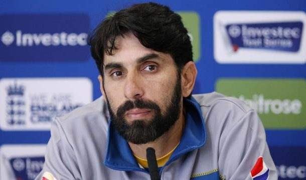 Chief Selector Misbah-ul-Haq Meets Director High Performance Nadeem Khan