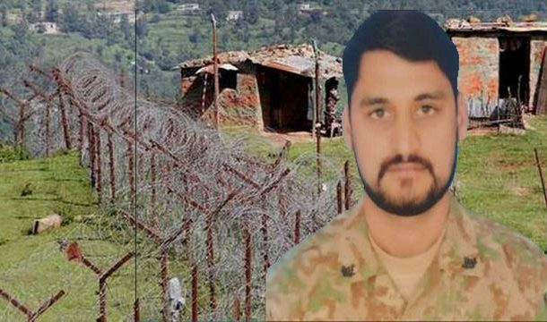 Martyred Pak Army Soldier Laid to Rest in Lahore