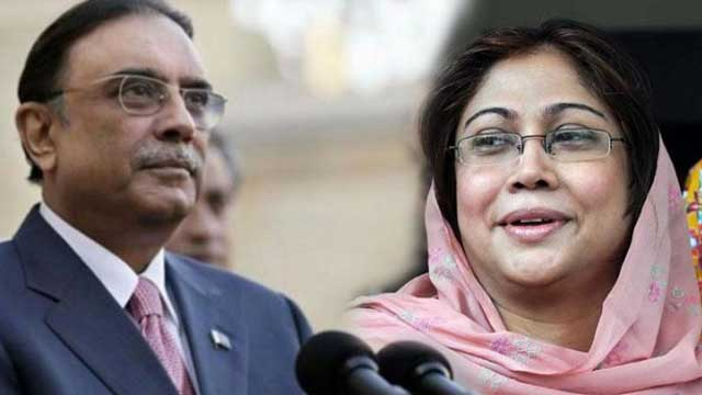Court Extends Judicial Remand of Zardari, Talpur Till September 5
